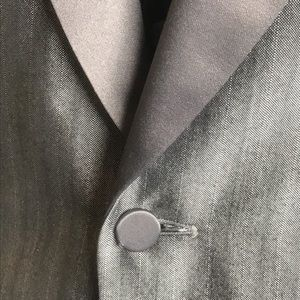 Suits & Blazers - Vintage Silver Shadow Sharkskin Tuxedo